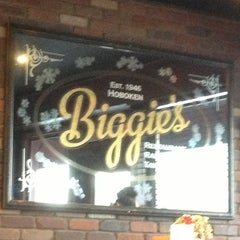Photo taken at Biggie's Restaurant Raw Bar Tavern by Where's J. on 1/30/2013