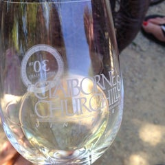 Photo taken at Claiborne & Churchill Vintners by Karabeth B. on 6/28/2014