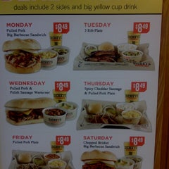Photo taken at Dickey's Barbecue Pit by Tim P. on 3/18/2014