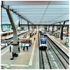 Photo taken at Station Rotterdam Centraal by Menno S. on 4/17/2012