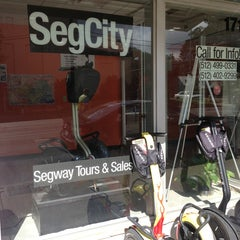 Photo taken at SegCity Segway Tours and Sales by Bill W. on 10/4/2013