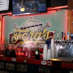 Photo taken at Ferg's Sports Bar & Grill by Susan H. on 4/24/2013