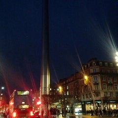 Photo taken at The Spire of Dublin / An Túr Solais by Ugur B. on 1/10/2013