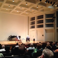 Photo taken at Albert Simons Center for the Arts, College of Charleston by Caro C. on 11/1/2013