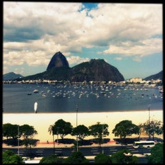 Photo taken at Enseada de Botafogo by Mayara A. on 10/8/2012