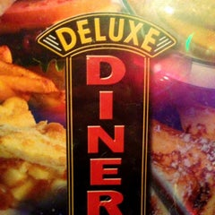 Photo taken at Deluxe Diner by Charlie S. on 11/5/2012