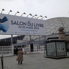 Photo taken at Station Porte de Versailles [T2,T3a] by Luiz Alvaro S. on 3/21/2013