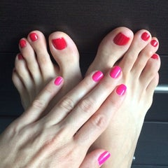 Photo taken at Express Nails by елена К. on 10/8/2014
