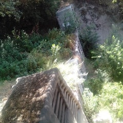 Photo taken at Gabrielino Trail Head by Harmony H. on 8/9/2014
