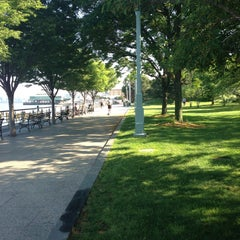 Photo taken at Hudson River Park by Leigh F. on 6/1/2013
