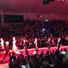 Photo taken at The Stage At MBFW by Leigh F. on 2/10/2013