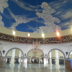 Photo taken at Masjid Agung Baitussalam by Haral A. on 8/27/2014