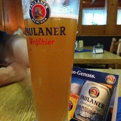 Photo taken at Schnitzel's by Stephan H. on 9/29/2014