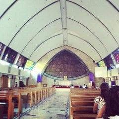 Photo taken at San Ildefonso Parish by deuts on 3/28/2013
