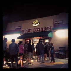 Photo taken at M&M Donuts by Esp E. on 6/7/2013