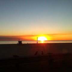 Photo taken at Beach Life Guard Post 18 by Rob on 1/17/2014