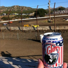 Photo taken at Barona Speedway & Dragstrip by Keith G. on 5/12/2013