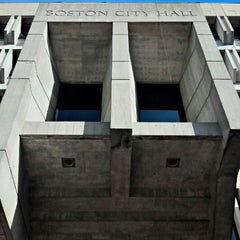 Photo taken at Boston City Hall by Naema N. on 10/23/2012
