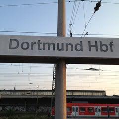 Photo taken at Dortmund Hauptbahnhof by Axel D. on 7/9/2013