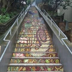 Photo taken at Hidden Garden Mosaic Steps by Tiffany P. on 1/14/2016