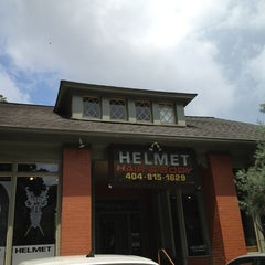 Photo taken at Helmet Hairworx by Sonoko M. on 6/29/2013
