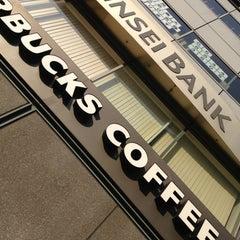 Photo taken at Starbucks Coffee なんば南海通店 by YAS T. on 8/14/2013