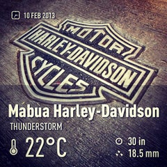 Photo taken at Mabua Harley-Davidson by Mahatma S. on 2/10/2013