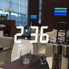 Photo taken at Lufthansa Business Lounge by Dema ♐. on 6/1/2015