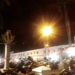 Photo taken at Benteng Kuto Besak by Dwi X. on 12/15/2015