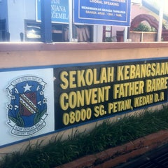 Photo taken at SK CONVENT FATHER BARRE by Syahrul N. on 12/29/2012