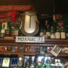 Photo taken at Mollie's Irish Pub by Nickolay Y. on 3/17/2013