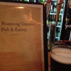 Photo taken at The Roaming Gnome Pub & Eatery by John W. on 8/21/2013