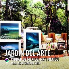 Photo taken at Jardín Del Arte by Ai Z. on 5/26/2013