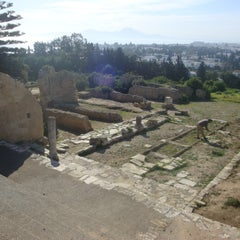 Photo taken at Carthage National Museum I Le musée national de Carthage I المتحف الوطني بقرطاج by Jihed B. on 8/23/2014
