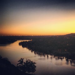 Photo taken at Covert Park at Mt. Bonnell by Brandon R. on 12/12/2012