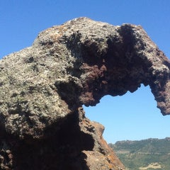 Photo taken at Roccia Dell'elefante by Wolfgang S. on 6/21/2013