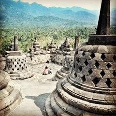 Photo taken at Candi Borobudur (Borobudur Temple) by Daniel F. on 6/23/2013