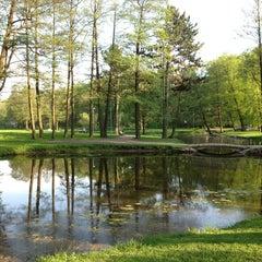 Photo taken at Arkādijas parks by Janis V. on 5/17/2013