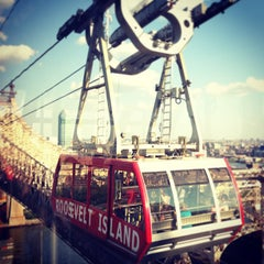 Photo taken at Roosevelt Island Tram by Sophie M. on 6/15/2013