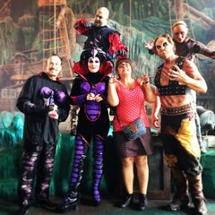 Photo taken at The Eighth Voyage Of Sindbad Stunt Show by Sophie M. on 5/8/2013