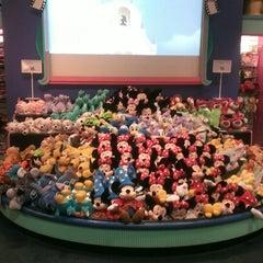 Photo taken at Disney Store by Kayla A. on 7/3/2014