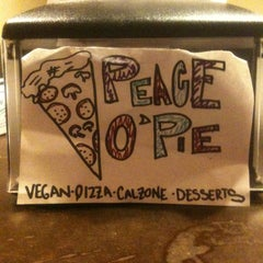 Photo taken at Peace o' Pie by Don G. on 1/1/2013