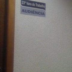 Photo taken at Tribunal Regional do Trabalho da 3ª Região by Angelo N. on 3/6/2013