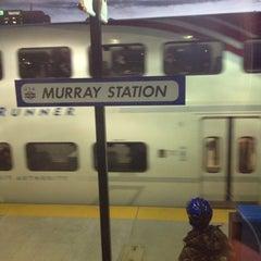 Photo taken at UTA FrontRunner Murray Station by Gabe G. on 12/19/2012