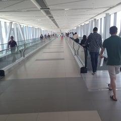 Photo taken at Burj Khalifa / Dubai Mall Metro Station محطة مترو برج خليفة / دبي مول by Juliya on 5/9/2013