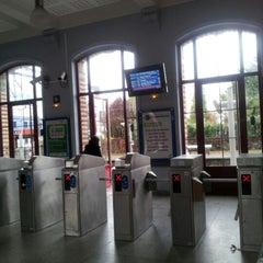 Photo taken at RER Saint-Gratien [C] by Amel B. on 11/4/2012