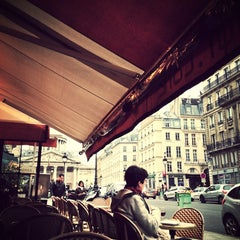 Photo taken at Café le Soufflot by Marc . on 5/22/2013