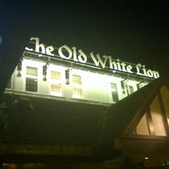 Photo taken at The Old White Lion by Tony C. on 9/21/2014
