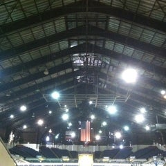 Photo taken at Indiana State Fairgrounds Coliseum by Historic I. on 10/27/2012
