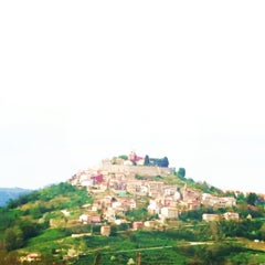 Photo taken at Motovun - Montona by barbi on 4/20/2013